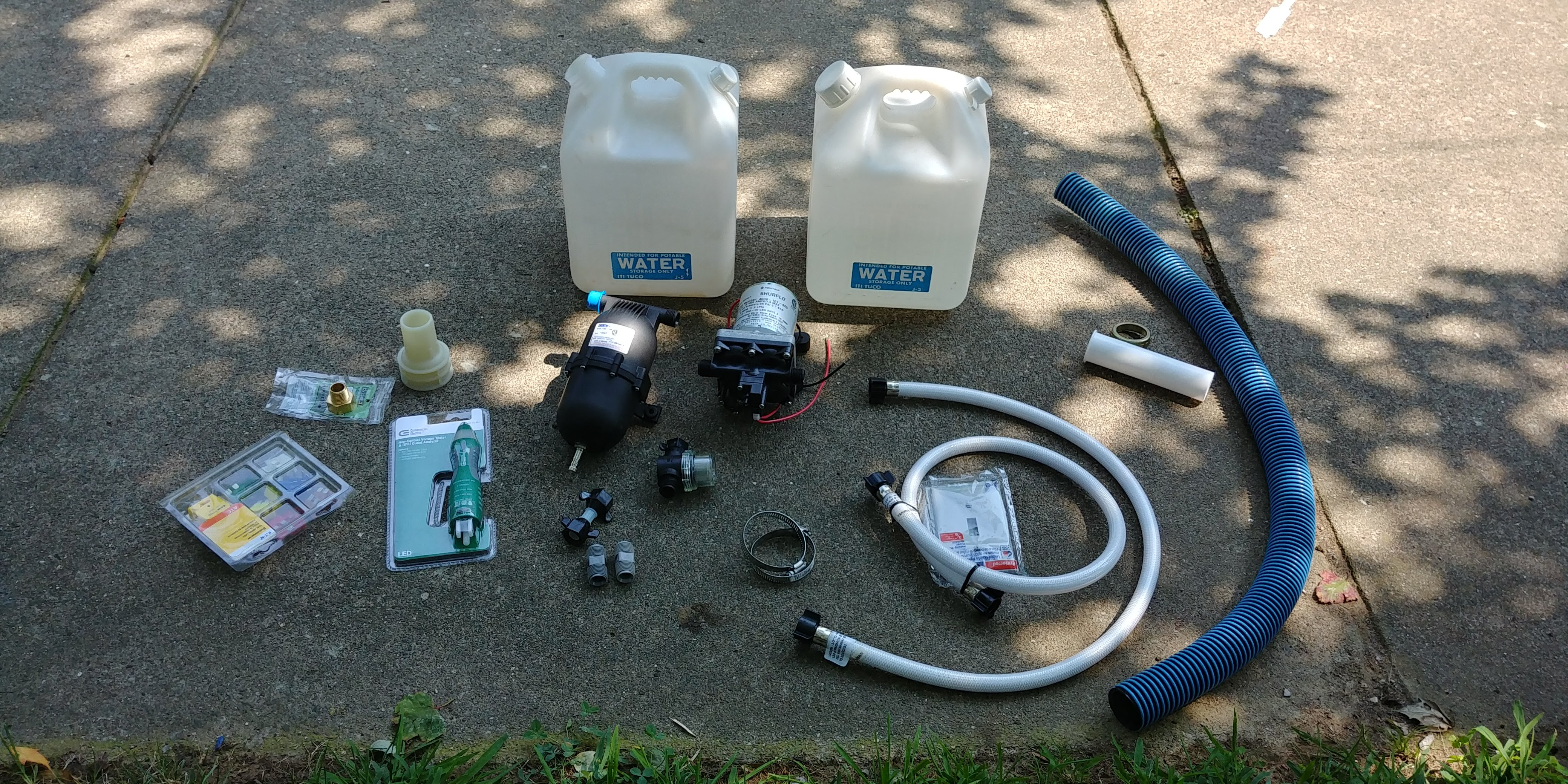 Installing An Electric Water Pump Mr Mrs Van Hatt Wiring All
